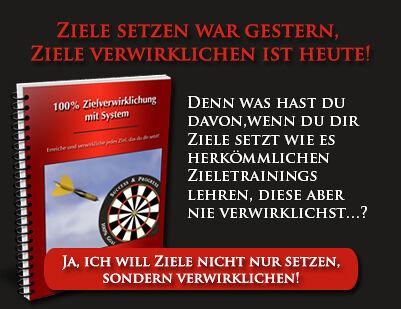 """Gratis-Webinar """"100% Zielverwirklichung mit System!"""" ZUM ANMELDEN bitte auf das Bild klicken!"""