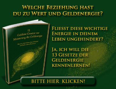 """Gratis Webinar – """"Die 13 Goldenen Gesetze zur Meisterung der Geldenergie"""""""